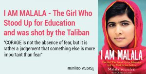 I AM MALALA - The Girl Who Stood Up for Education  and was shot by the Taliban